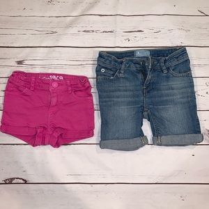 Baby girls gap denim shorts